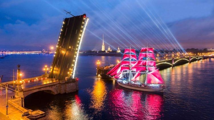 алые паруса санкт-петербург