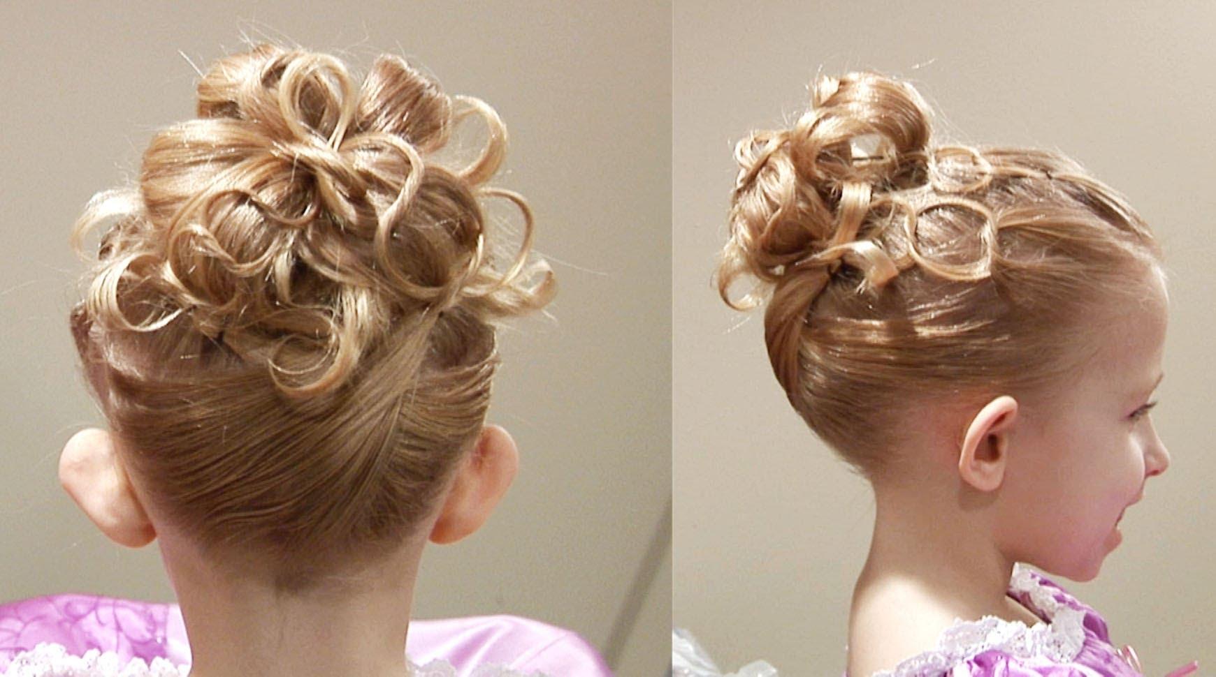 Прически праздничные на длинные волосы для девочек на выпускной
