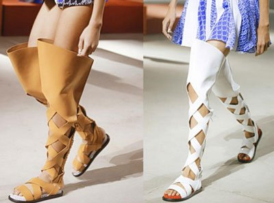 Модные тенденции весна – лето 2016  обувь 4eaba4ccba888