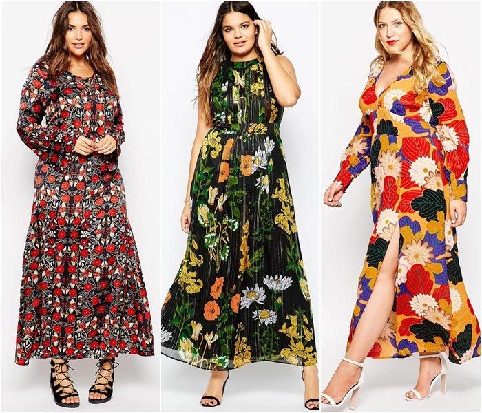 Платье на лето 2017 для полных