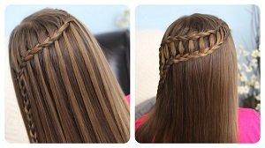 Прически в школу за 5 минут своими руками для длинных волос 59