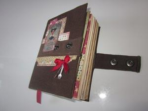 Книга в стиле скрапбукинг-2