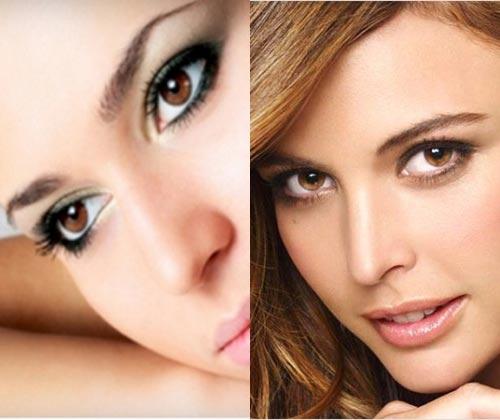 Как сделать макияж при опущенных веках 895