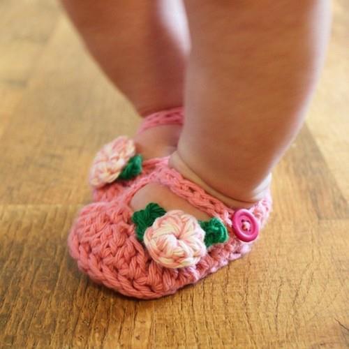 вязание пинеток спицами для детей от 0 до 1 года с описанием