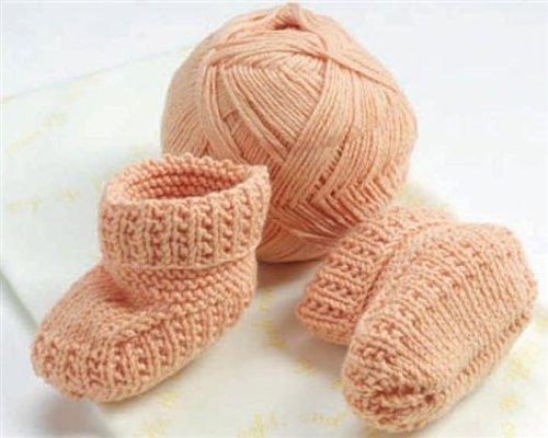 вязание пинеток спицами для детей от 0 до 1 года