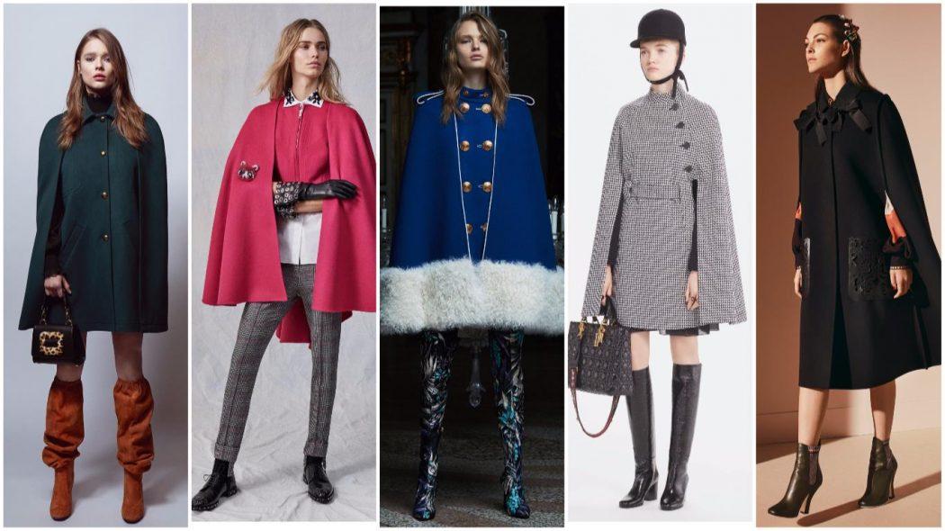 Модные пальто осень-зима 2017-2018: фото