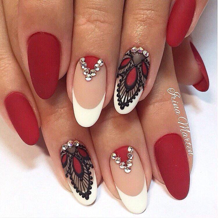 Модные дизайны ногтей