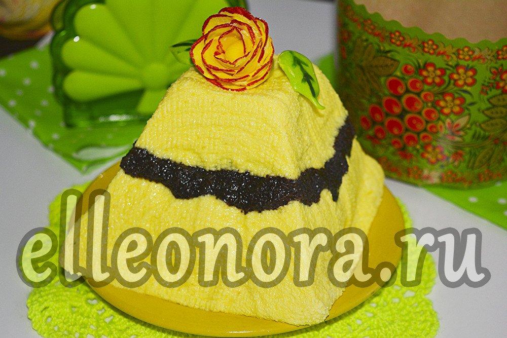 Лимонная пасха с маком
