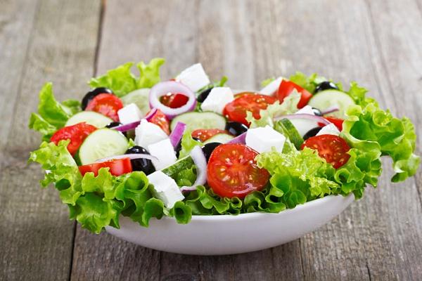 Как приготовить греческий салат пошагово
