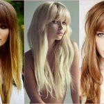 Модные стрижки 2017: фото на длинные волосы с челкой, женские, за 30 лет