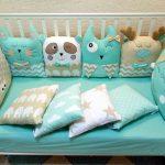 как сшить бортики для кроватки