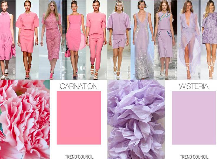 какие цвета модны весной