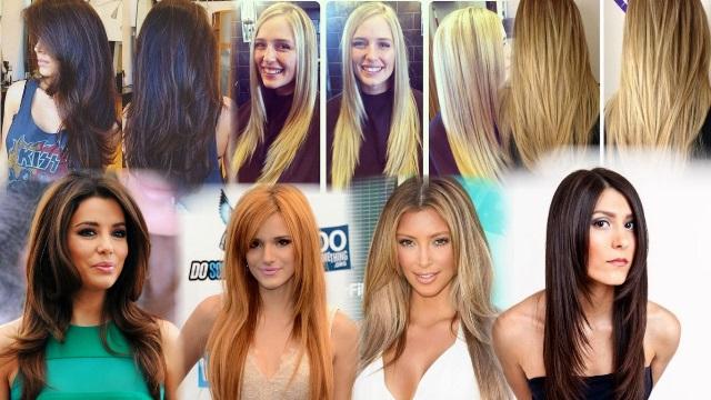 Прически длинные волосы лесинка