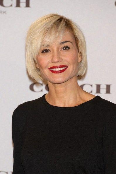 Стильные прически для женщин после 40-50 лет: советы Стрижка на короткие волосы с челкой кому за 40