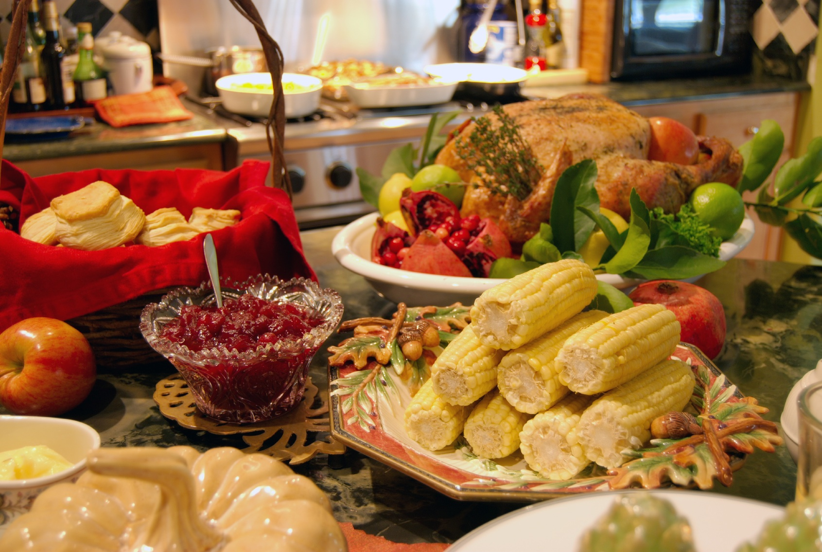 thanksgiving food pictures - 842×564