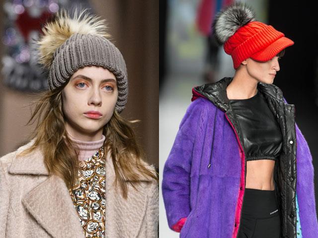Фото модные шапки 2017-2018