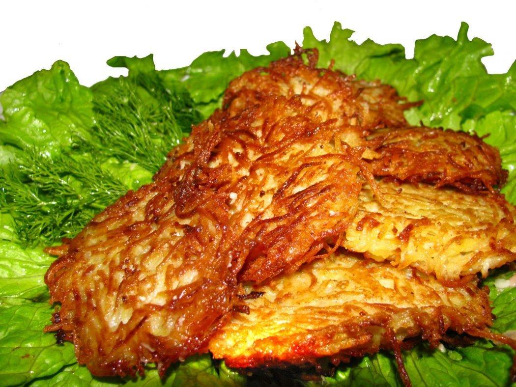 Драники из картошки: пошаговые рецепты с фото
