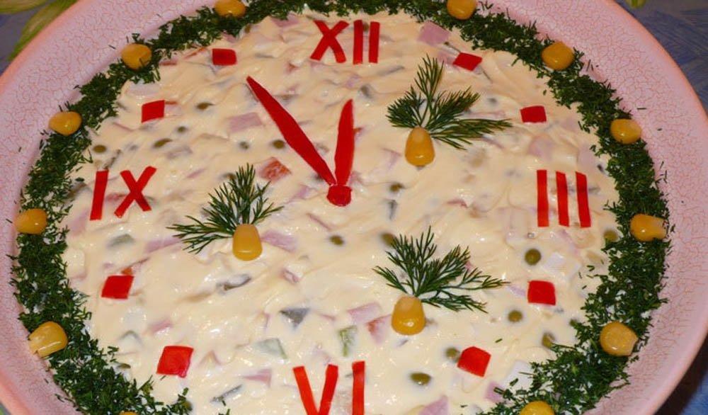 Как приготовить к новому году салаты