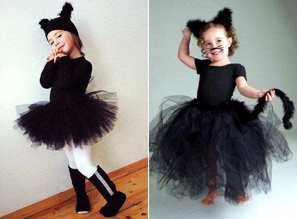 Новогодний костюм кошки для девочки своими руками фото 282