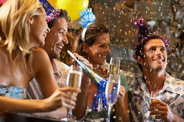 Веселые конкурсы на новый год для взрослых