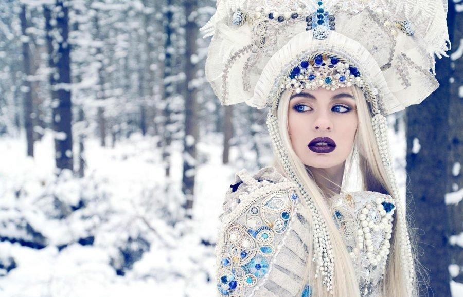 Как сшить костюм для Снегурочки своими руками: фото, лекала