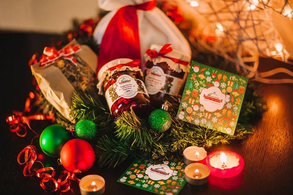 Подарок учителю к Новому году 2018: оформление корзинки, мастер-класс (фото)
