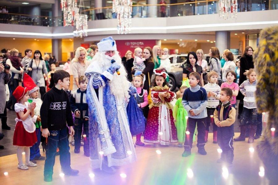 Сценарий на Новый год 2018 для детей средней группы детского сада