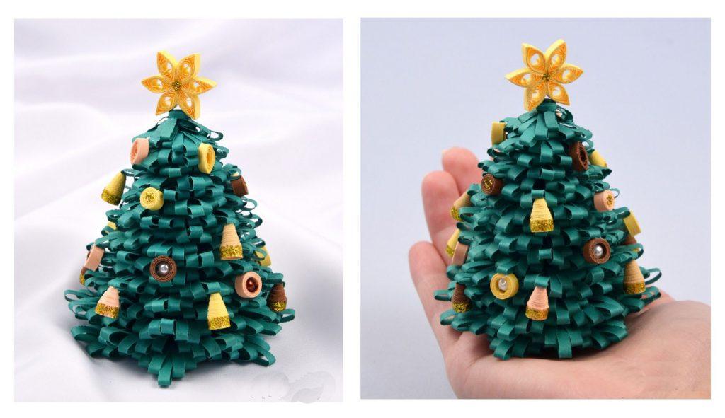 Поделка елка не из елки 15