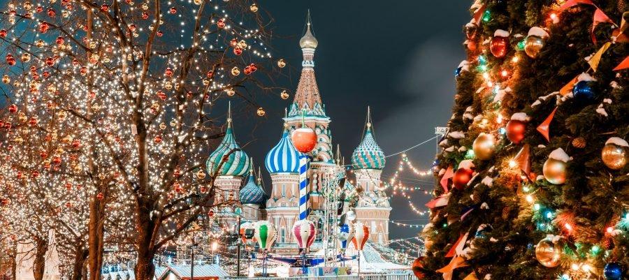 Какая погода будет на Новый год 2018 в Москве