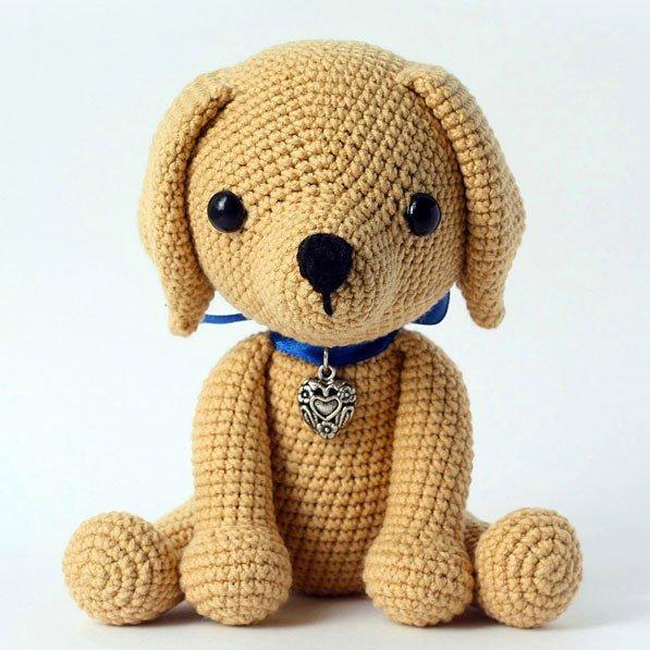 lucky-puppy-free-amigurumi-pattern Поиск на Постиле: Собачки амигуруми схемы