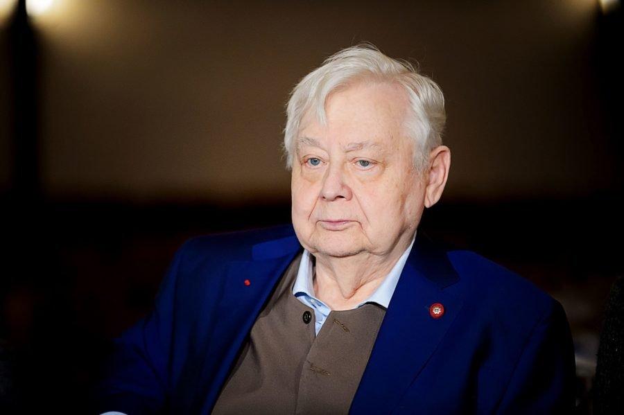 Олег Табаков: последние новости 2018, фото из больницы