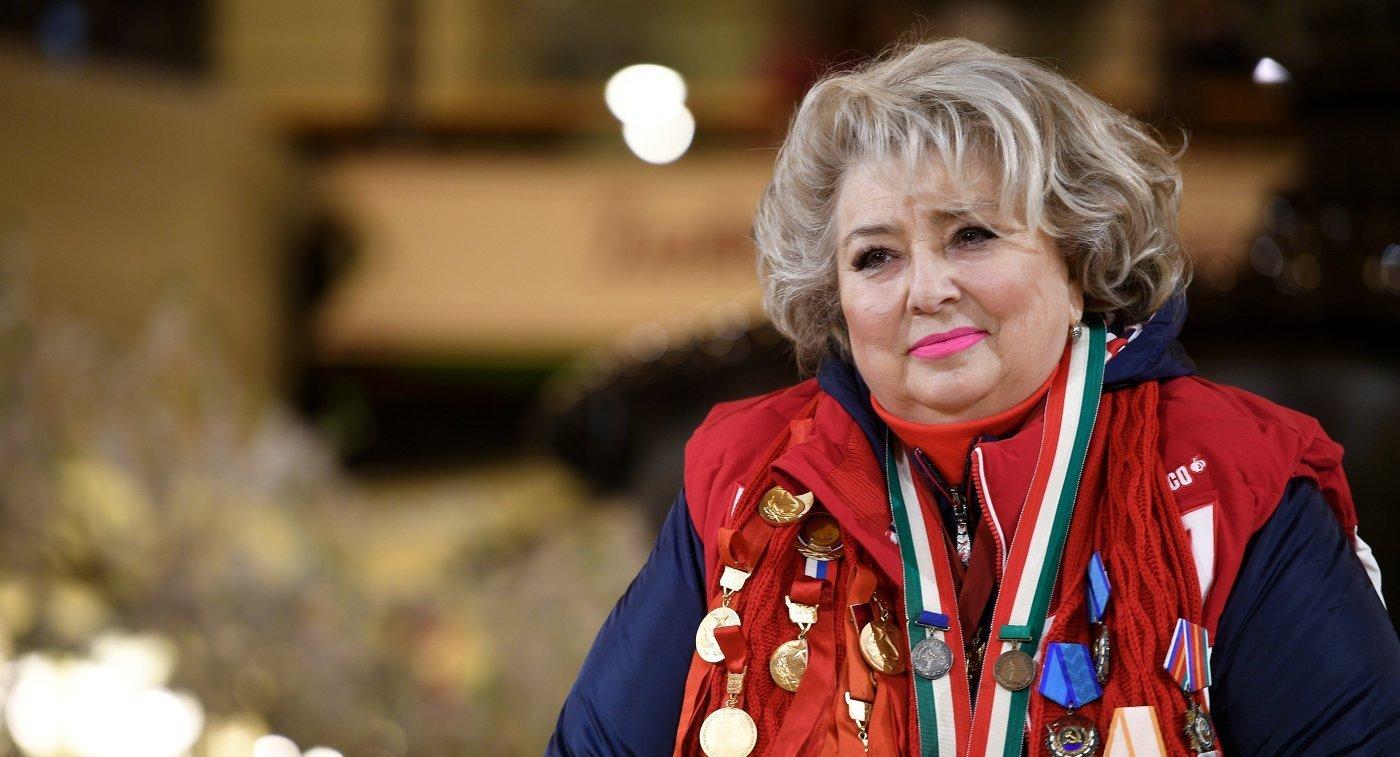 Татьяна Тарасова – биография, фото, личная жизнь тренера по фигурному катанию
