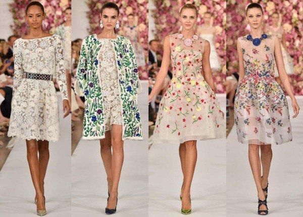 Модные тенденции платьев