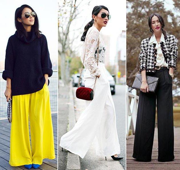 Женские брюки 2018 года - модные тенденции (фото)