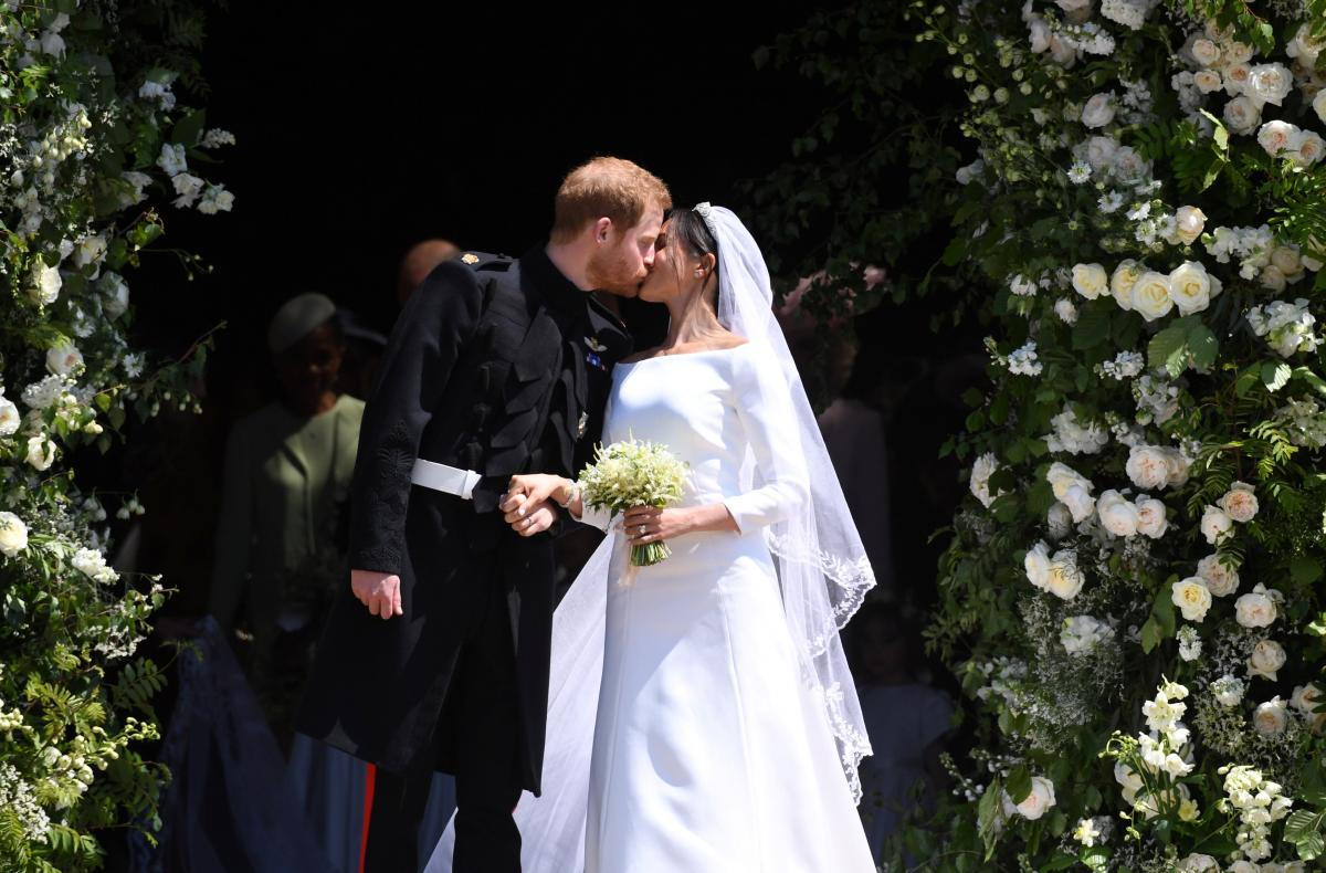 Миниатюра к статье Свадьба Меган Маркл и принца Гарри