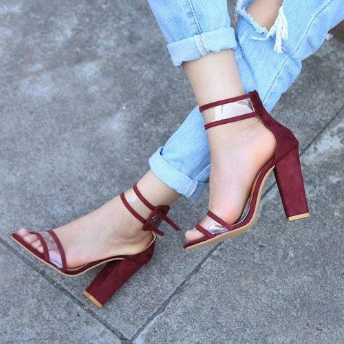 Прямоугольный каблук