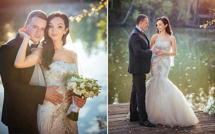 Никита Зверев с женой