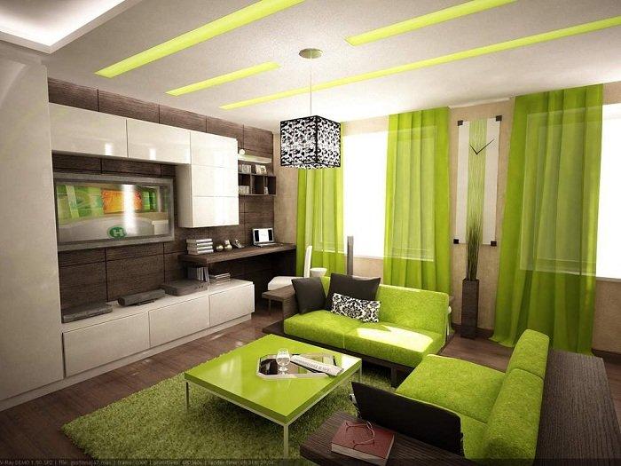 Какие шторы для гостиной будут в моде?