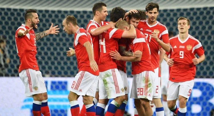 товарищеских матчей сборной России по футболу