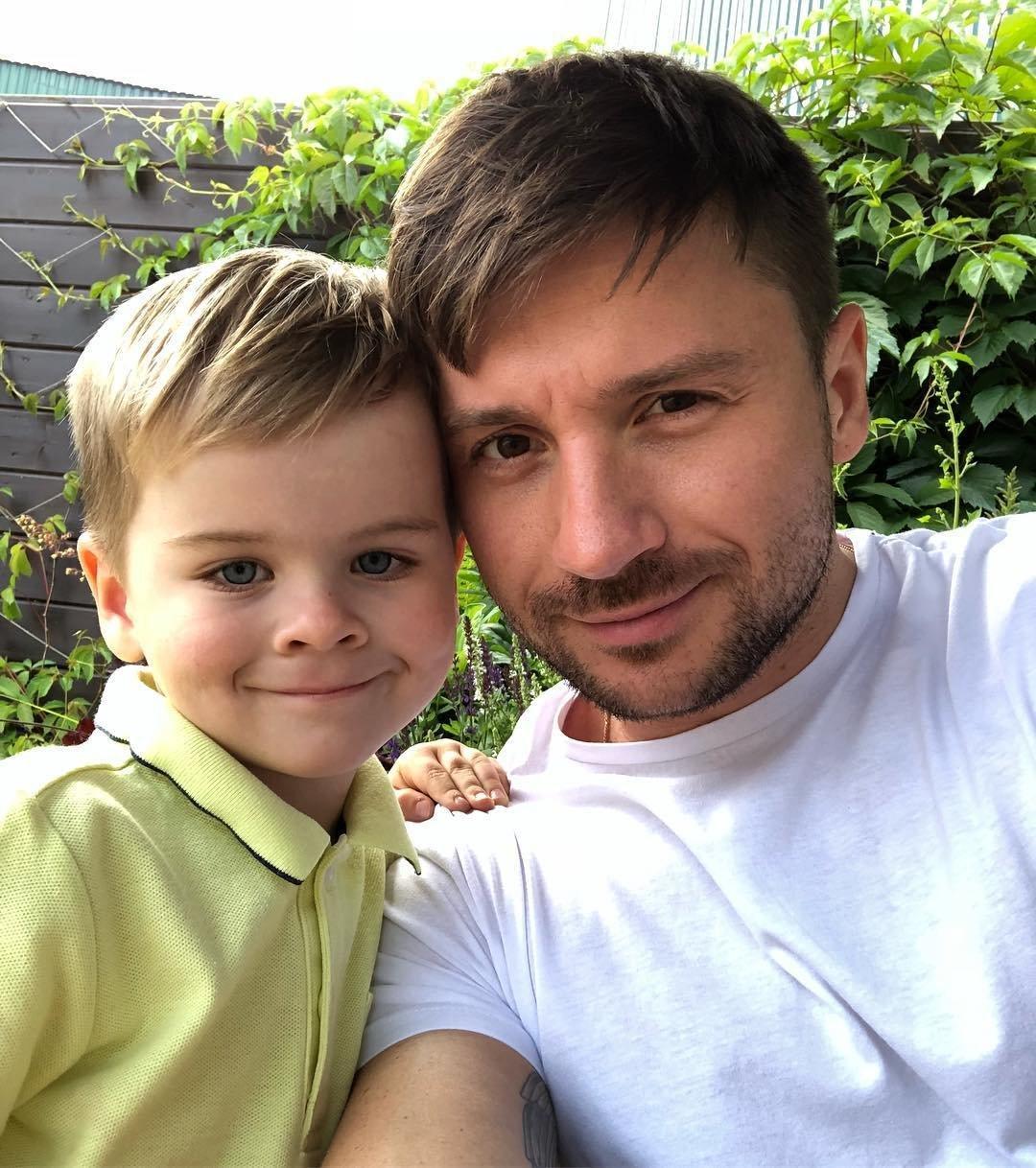 Сергей Лазарев и сын