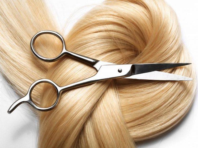 волосы и ножницы