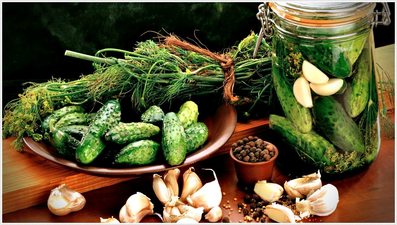 рецепты приготовления малосольных огурцов
