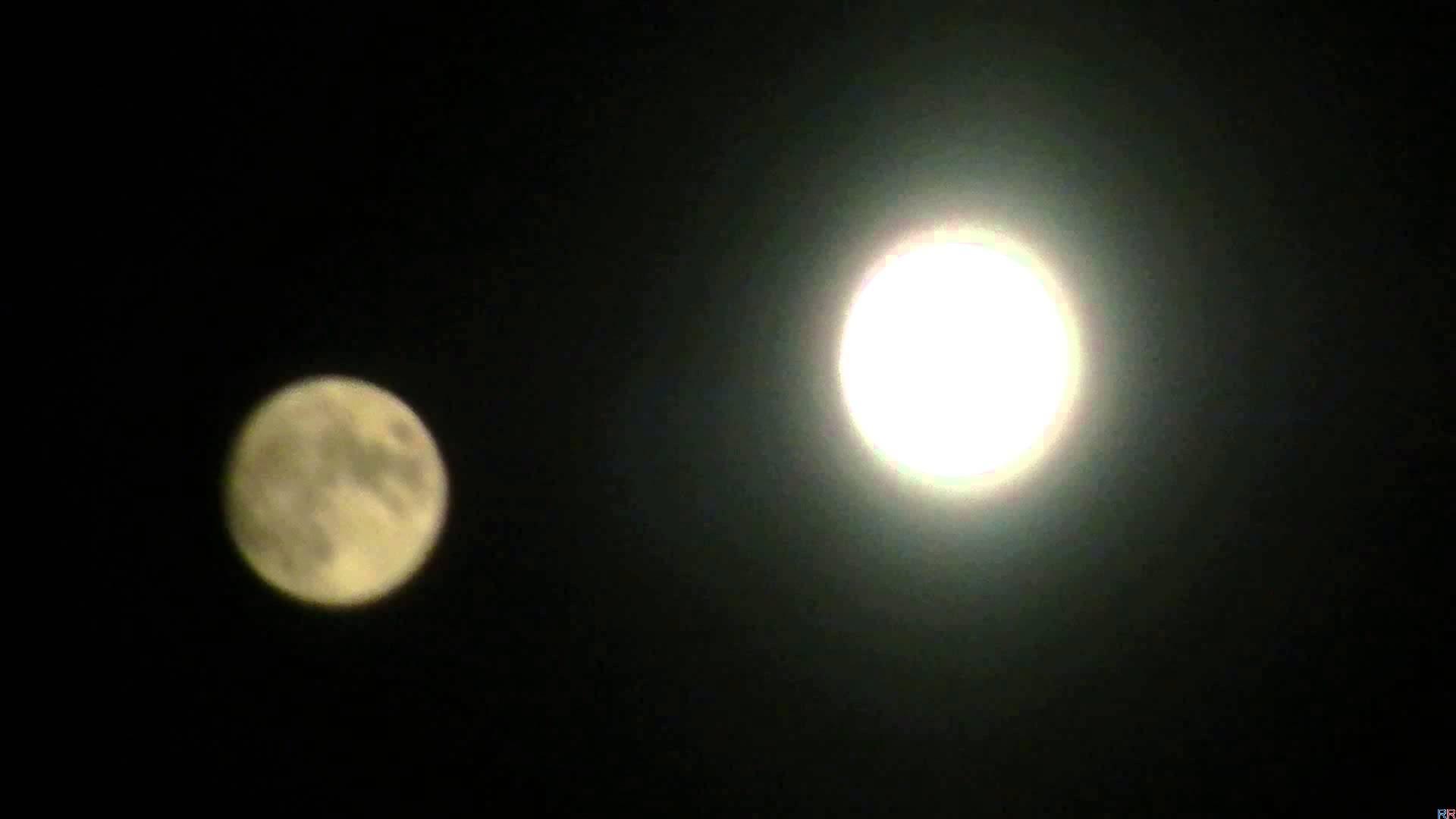 когда будет видно две луны в 2018 году