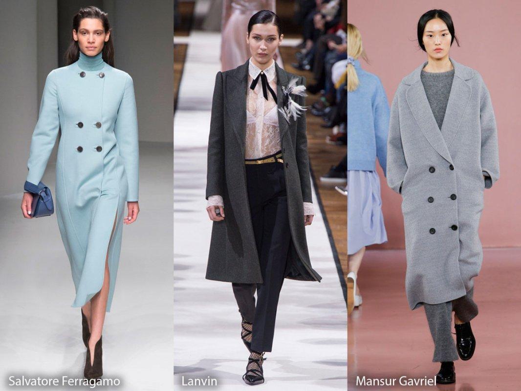 Модные пальто: осень-зима 2018-2019 (фото)