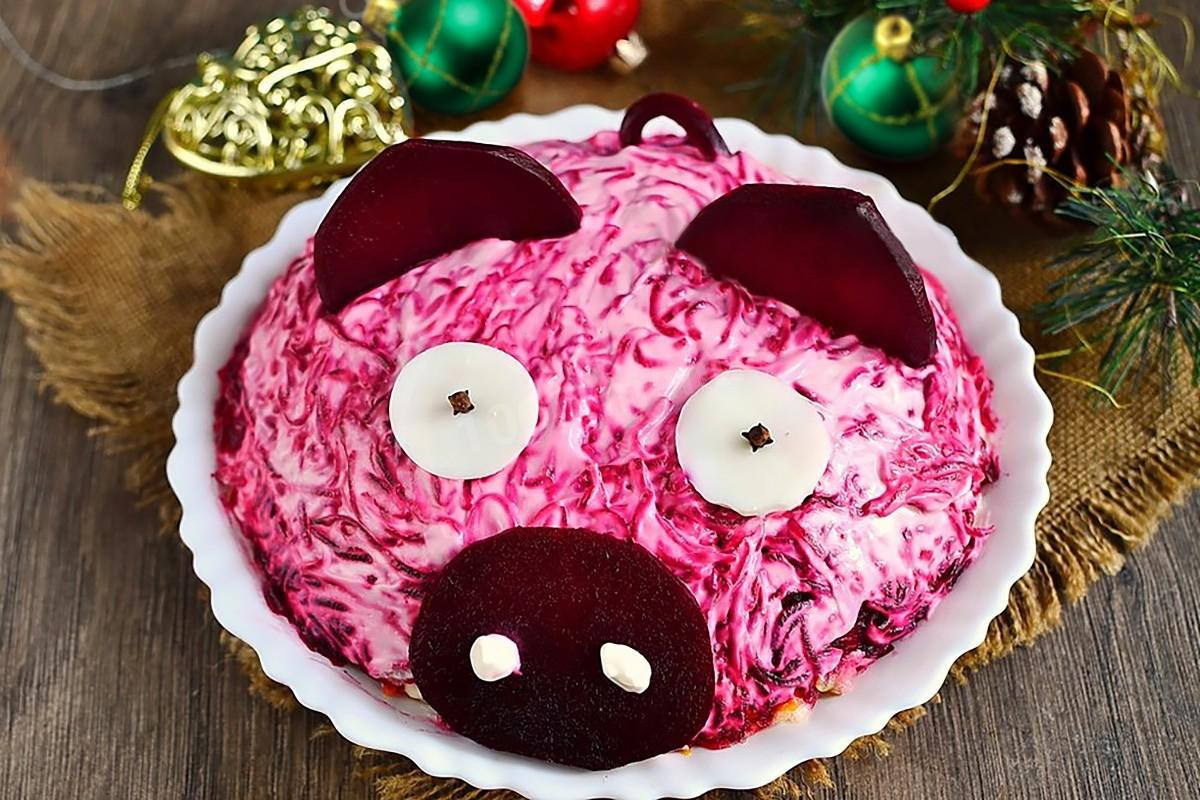 этот оформление салата шуба к праздничному столу фото все фотографии