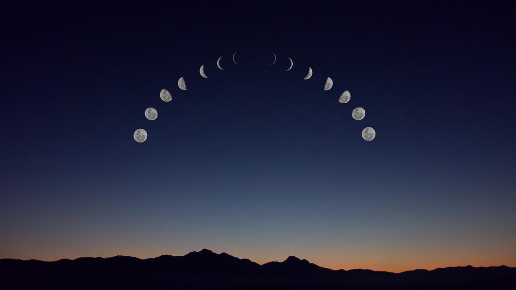 .Фазы луны