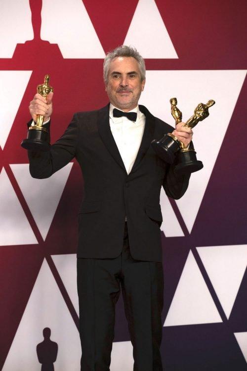 Альфонсо Куарон - победа за фильм Рома
