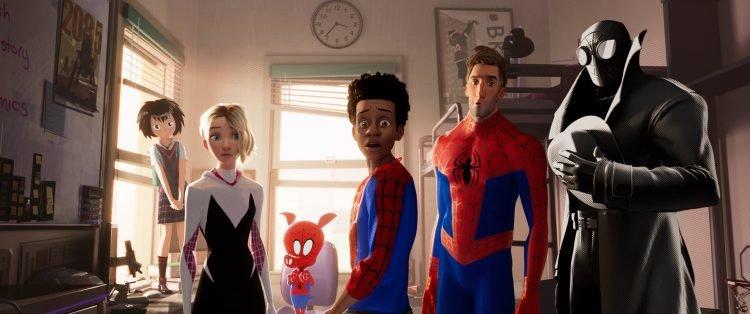 Человек-паук Через вселенные - лучшая анимационная картина 2019 Оскар