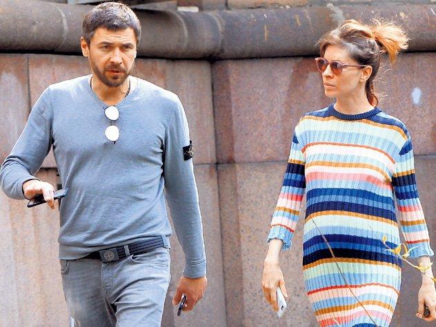 Елена Подкаминская и Денис Гущин