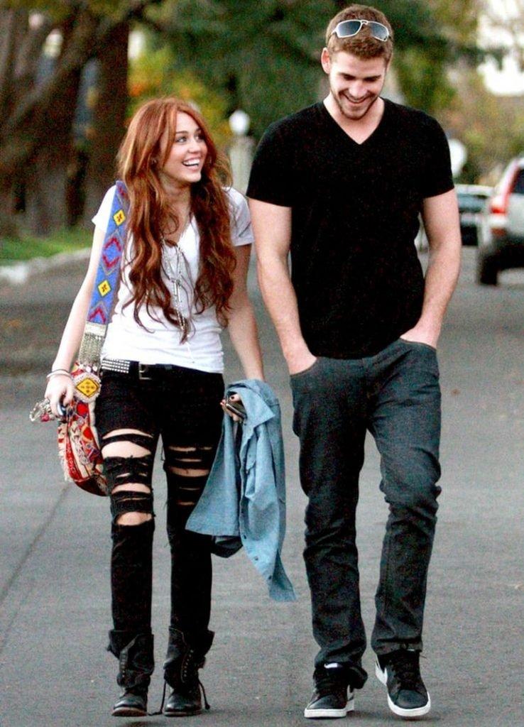 Лиам и Майли после расставания